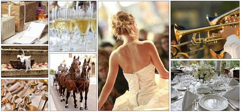 Beispiel: Ihr Konzept für eine klassische Hochzeit, Foto: tageundzeiten
