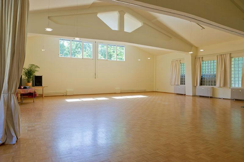 Beispiel: Großer Raum, Foto: Seminarhaus am Schönberg.