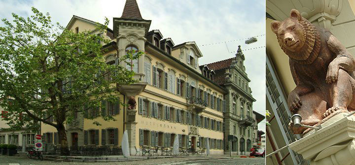 Beispiel: Außenansicht, Foto: Hotel Bären Langenthal.