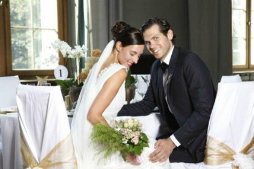 Beispiel: Brautpaar, Foto: