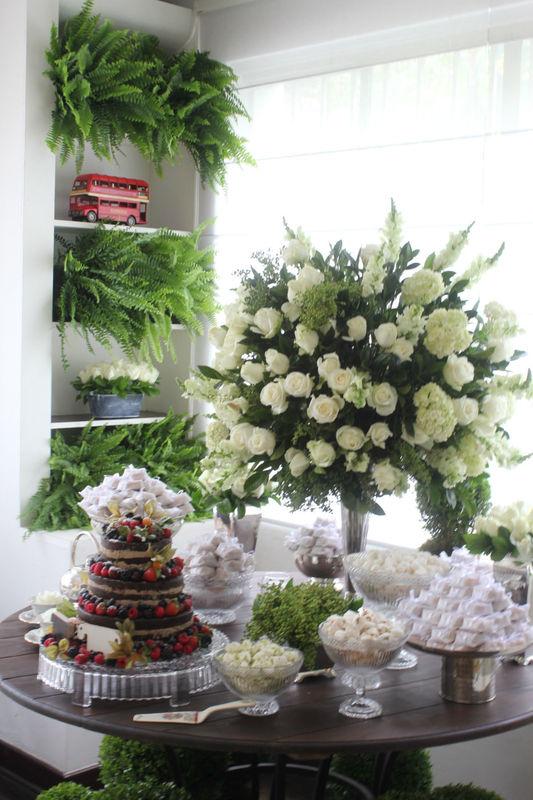 Bem Florido Mini Wedding temático - British Tea