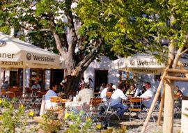 Beispiel: Biergarten, Foto: Gasthof Linde.