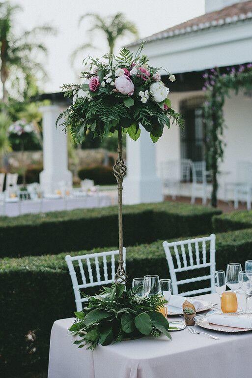 Mesas para bodas con estilo