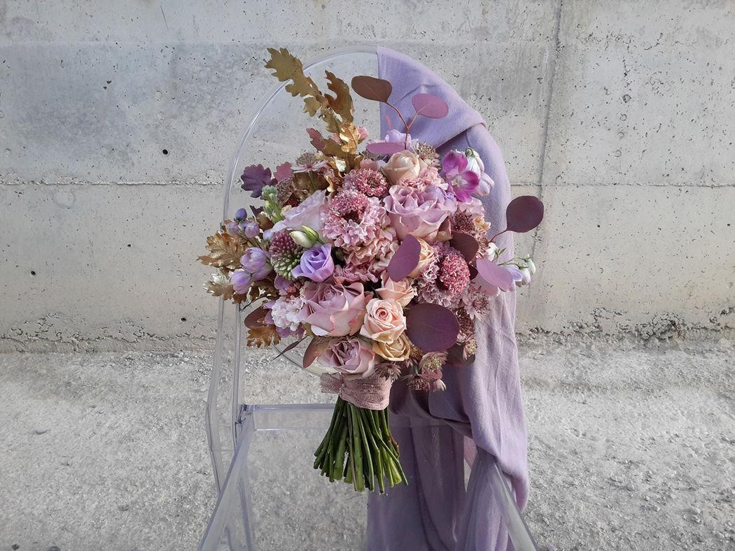 Ramo de novia Flowercap