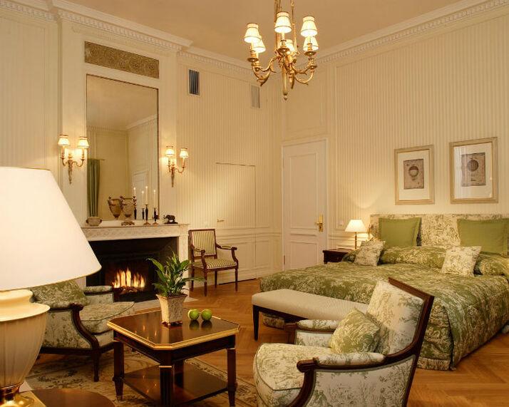 Beispiel: Baron-Suite, Foto: Villa Rothschild.