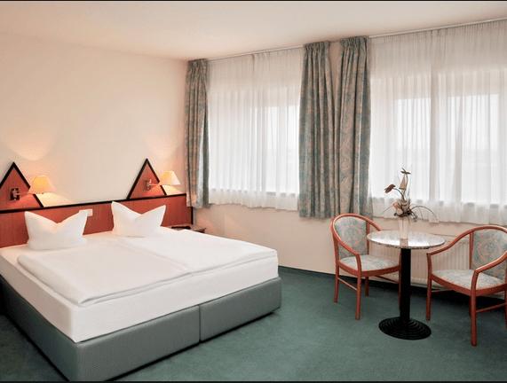 Beispiel: Doppelzimmer, Foto: Best Western hotel Sachsen-Anhalt.