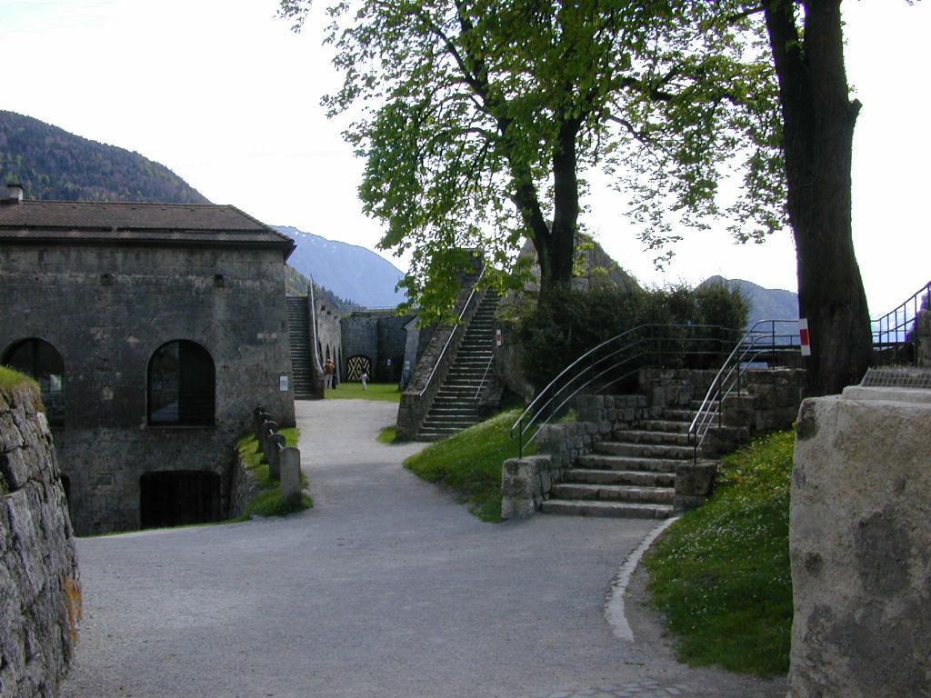 Foto: Wallachenbastion der Festung Kufstein.