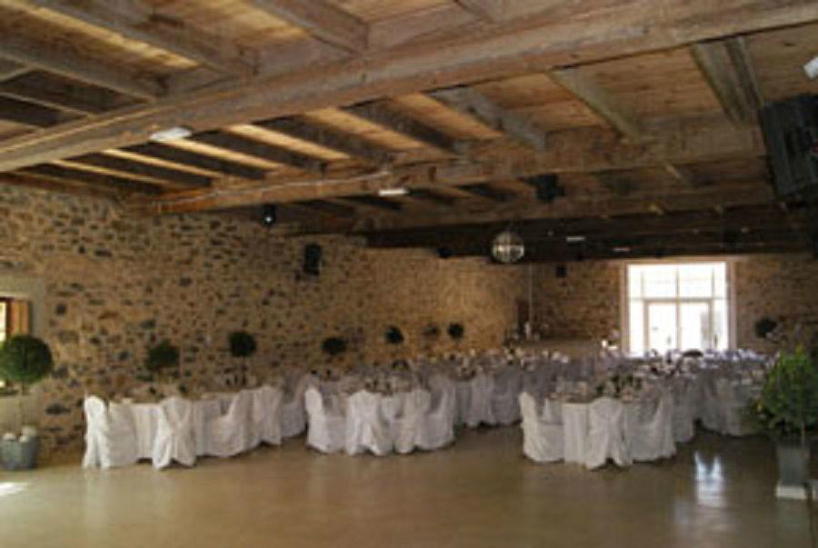 Château de la Prade - salle de réception