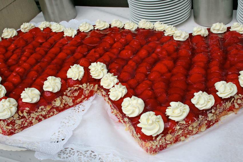 Beispiel: Torte, Foto: Schloss Garvensburg.
