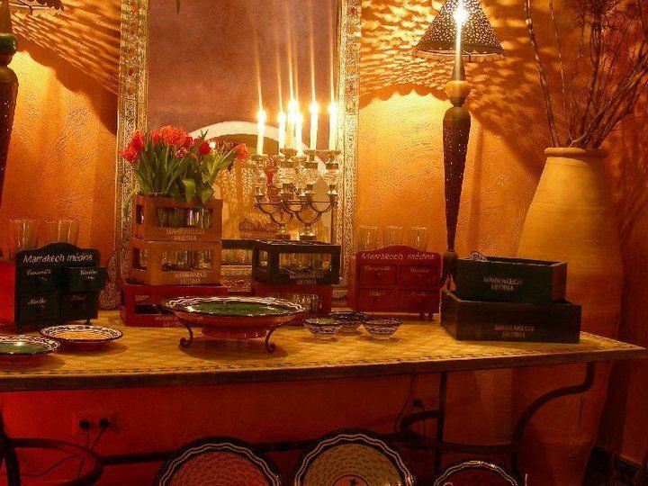 Beispiel: Buffet, Foto: Le Marrakech.