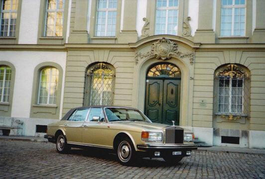 Beispiel: Ihre Limousine zur Hochzeit, Foto: Roger's Limousinenservice.