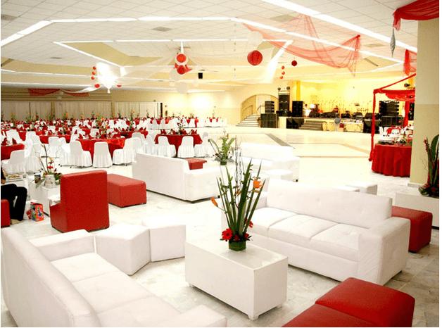 Salón para eventos - Foto Figlos Culiacán