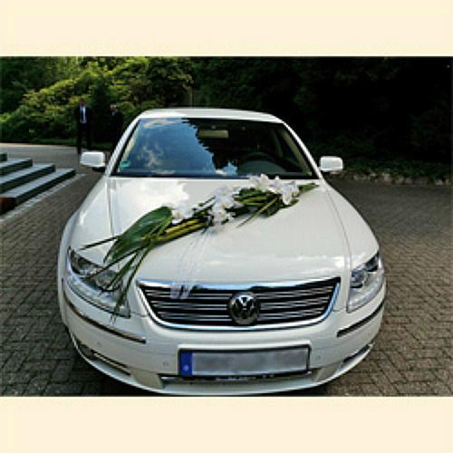 Beispiel: Autoschmuck, Foto: Blumen Mardt.