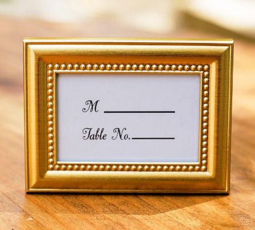 Marcador de mesa. Wedding Shop