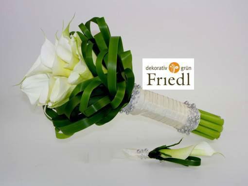 Beispiel: Individuelle Sträuße für Ihren schönsten Tag, Foto: Friedl dekorativ & grün.