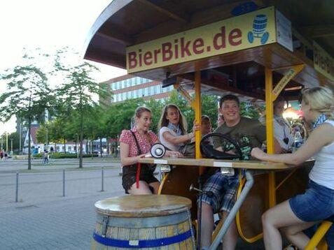 Beispiel: Spaß und Genuss, Foto: BierBike Münster.
