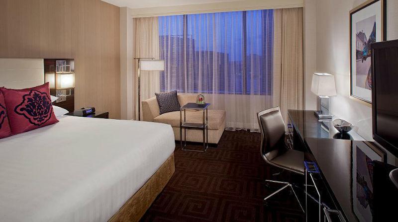 Beispiel: Hotelzimmer New Orleans, Foto: Hyatt Hotels.