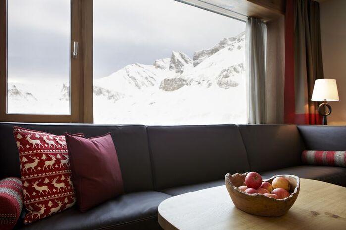 Beispiel: Lounge, Foto: Hotel frutt LODGE & SPA.