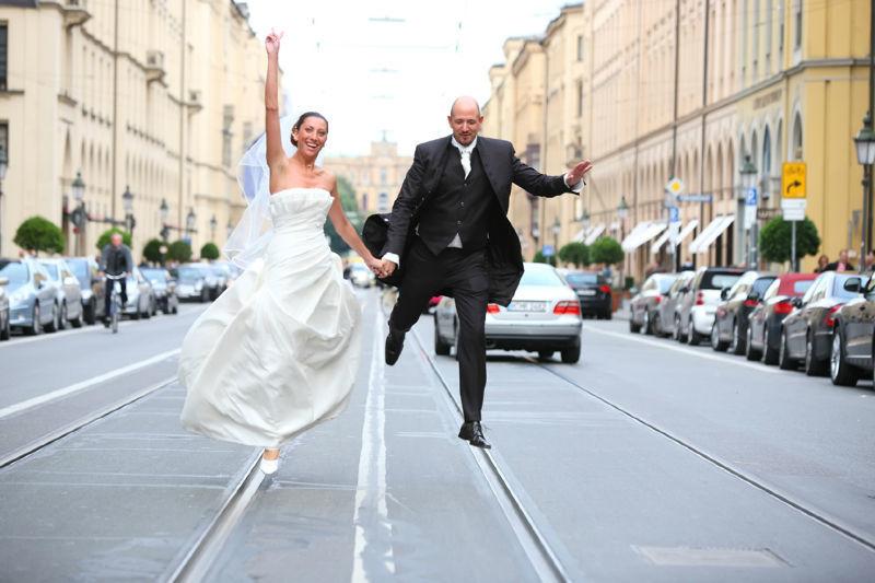Beispiel: Individuelle Brautpaar-Shootings, Foto: MS Fotografie.