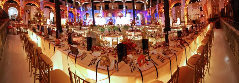 Decoración de boda Foto: Ex Convento de San Hipólito