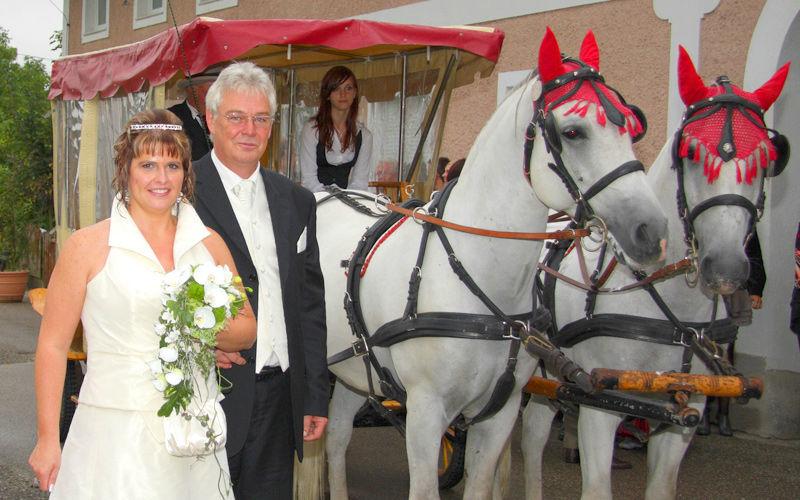 Beispiel: Hochzeitsfeier, Foto: Stadlerhof Wilhering.
