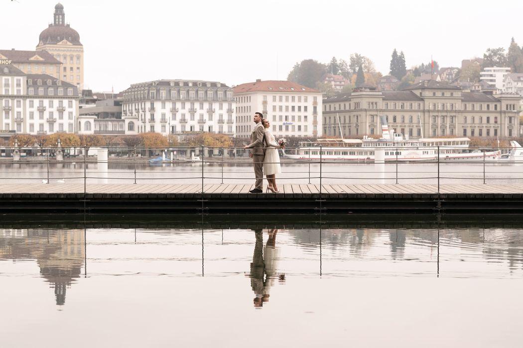 Hochzeitsreportage in Luzern