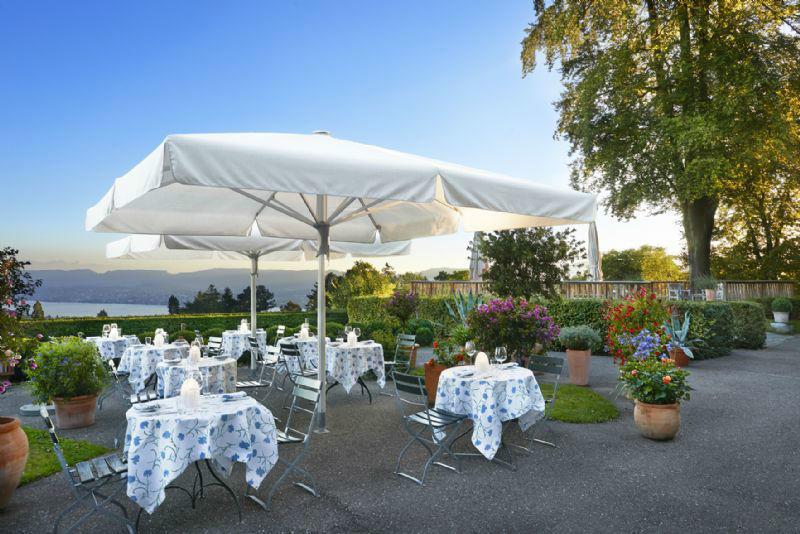 Beispiel: Terrasse, Foto: Sorell Hotel Zürichberg.