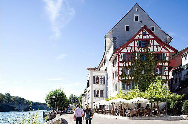 Beispiel: Außenansicht, Foto: Gasthof Hirschen.