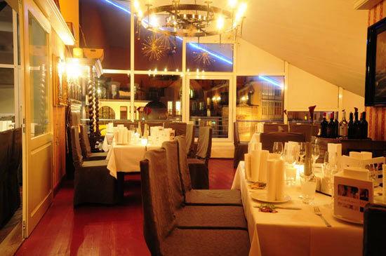 Beispiel: Kaminzimmer, Foto: Teepott-Restaurant.