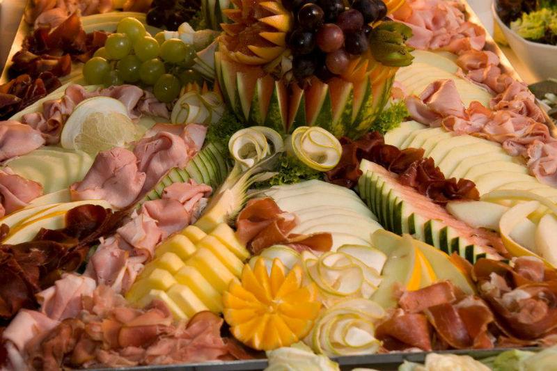 Beispiel: Exquisite kalte Platten, Foto: Das exklusive Buffet.