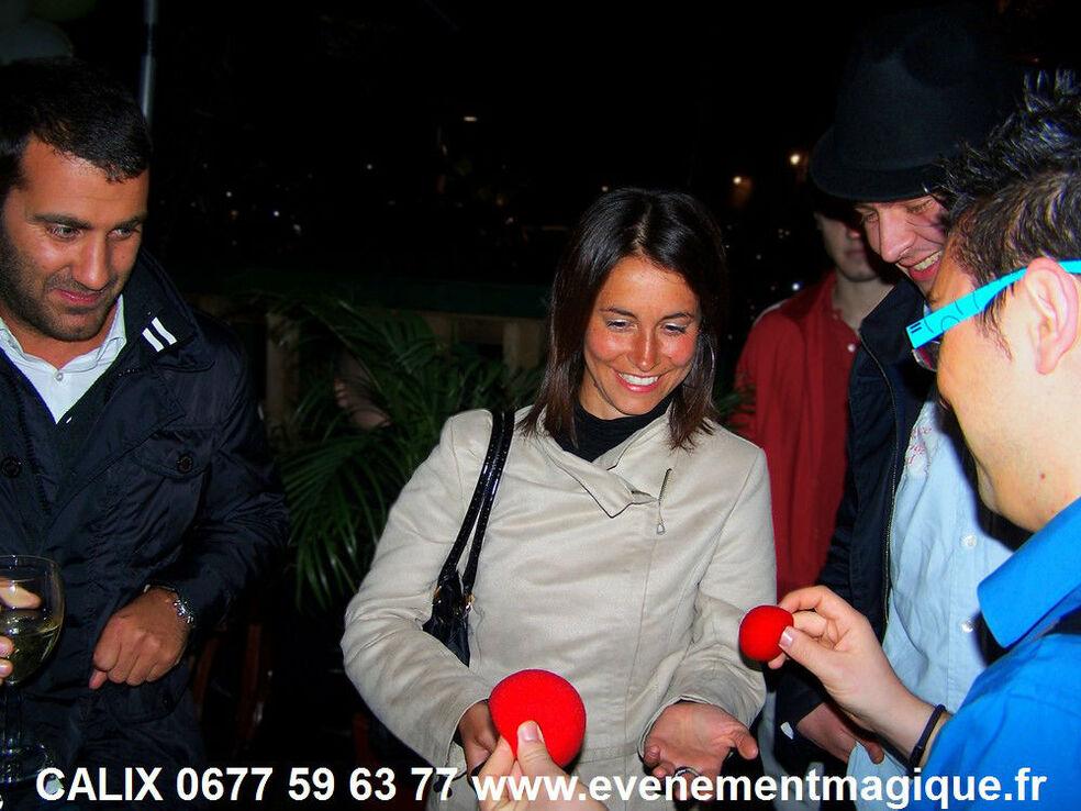 magicien Lyon Rhone mariage séminaire