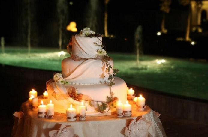 il momento della torta:la suggestione delle candele