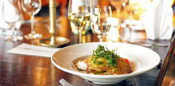 Beispiel: Gastronomie, Foto: Antik-Hof Bissee.