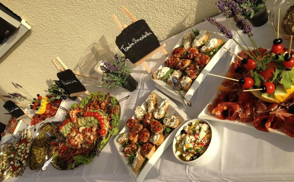 Beispiel: Büffet, Foto: Rimelin Restaurant.