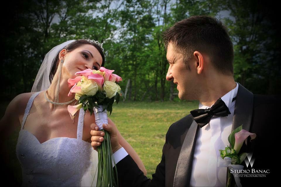 Beispiel: Wunderschöne Hochzeitsfotos, Foto: Studio Banac.