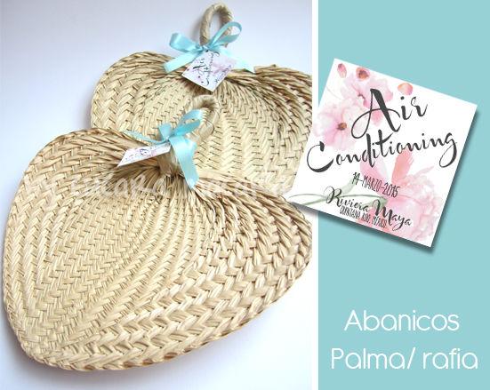 Abanicos de Palma- Rafia