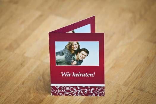 Beispiel: Ihr Bild auf der Einladungskarte, Foto: Familieneinladungen.