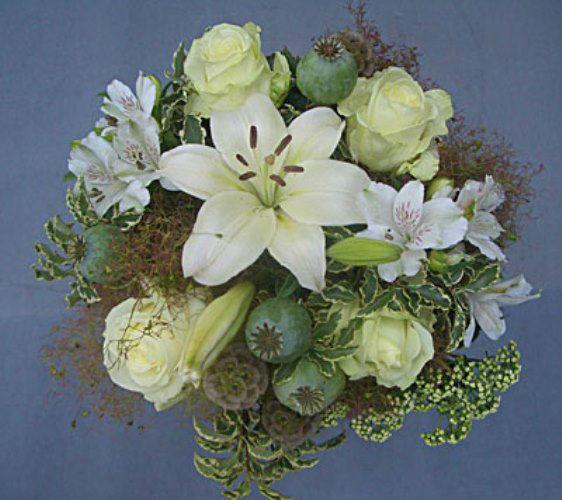 Beispiel: Wunderschöne Sträuße für den schönsten Tag im Leben, Foto: Blumen Leitgeb-Hitzler.