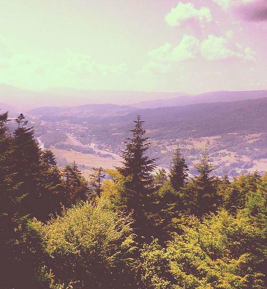 Karczma na Górze Chełm w Myślenicach