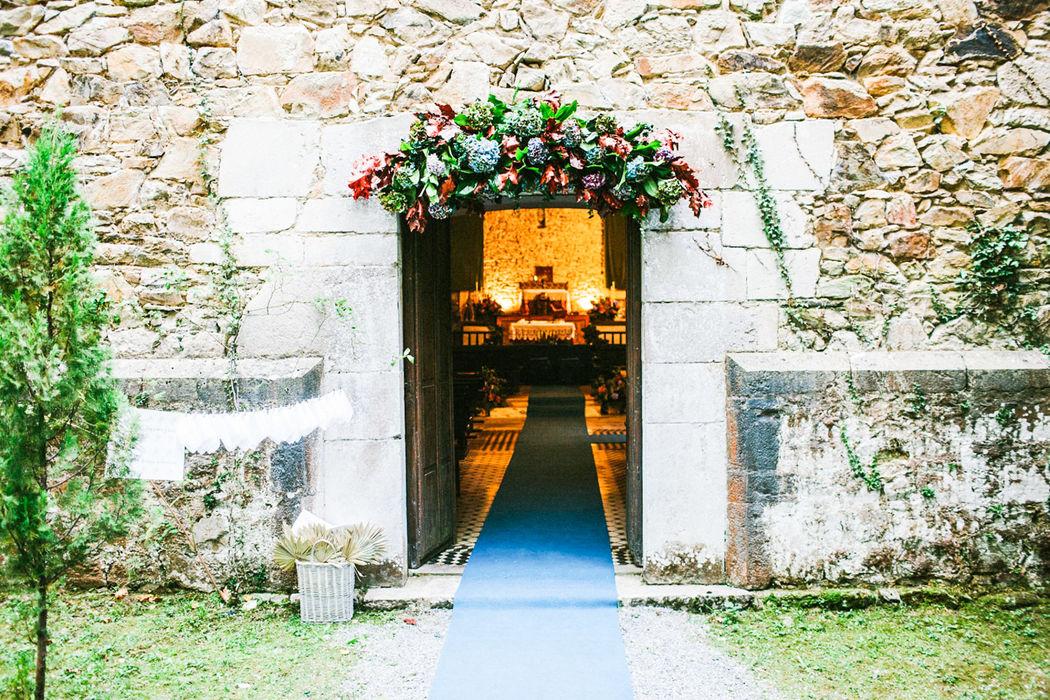 Entrada a capilla. Palacio Conde de Toreno