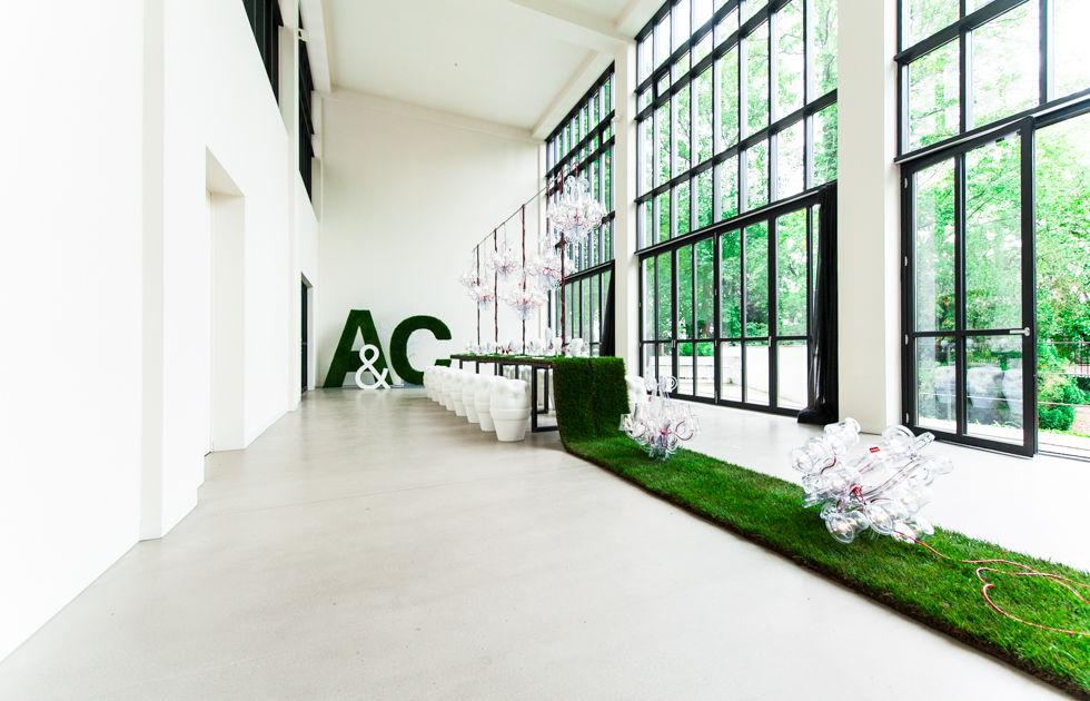 Concept-Shooting Garten neu interpretiert.  Foto: [blickfang] event design