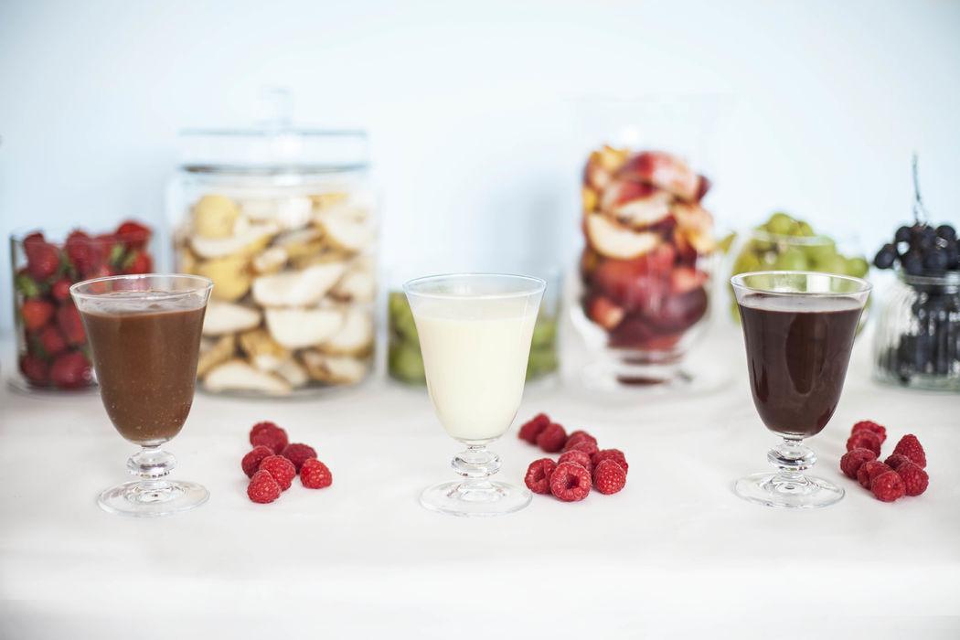 Buffet de fruits et sauce - Dans votre petite cuisine