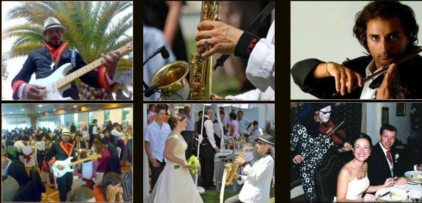 Recepção dos noivos e convidados  Saxofone Violino Flauta,piano,gaita de foles, outras...