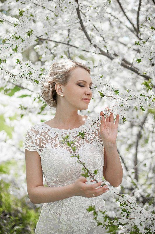 макияж для невесты Катюши фотограф Роман Глосс