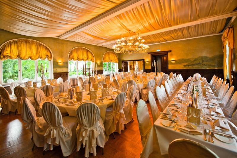 Beispiel: Hochzeitsalon, Foto: Hotel Kronenschlösschen.
