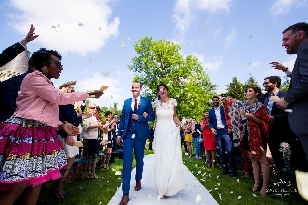 Sweet Félicité Photographie Juste mariés / Just married/ Bretagne