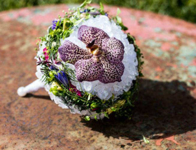 Beispiel: Brautstrauß, Foto: BlumenWerk.