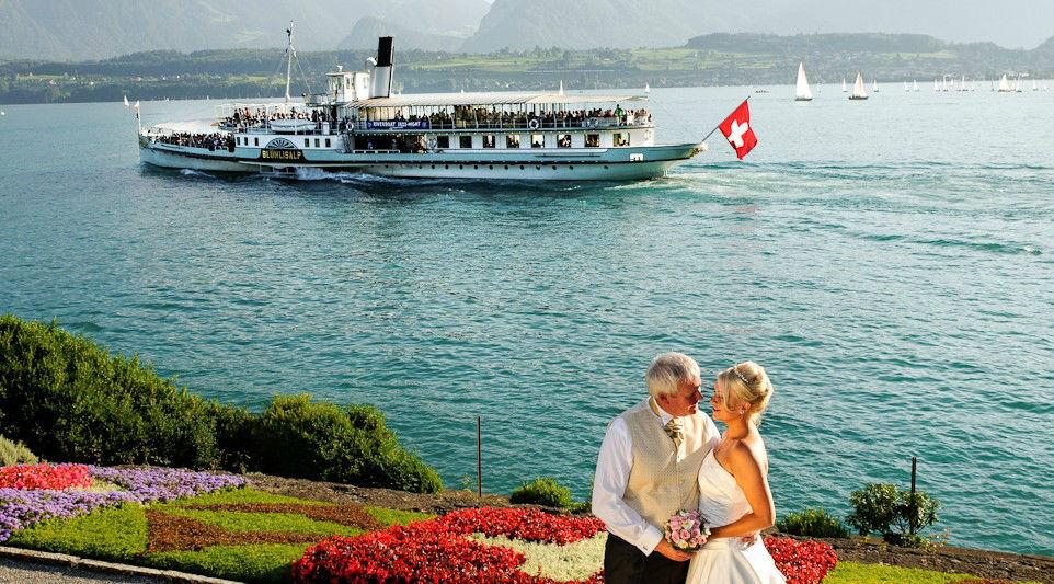 Beispiel: Planung und Organisation Ihrer Hochzeit, Foto: Switzerland Wedding Company.