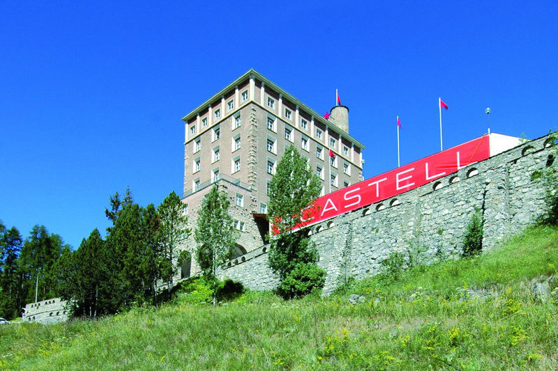 Beispiel: Aussenansicht, Foto: Hotel Castell.