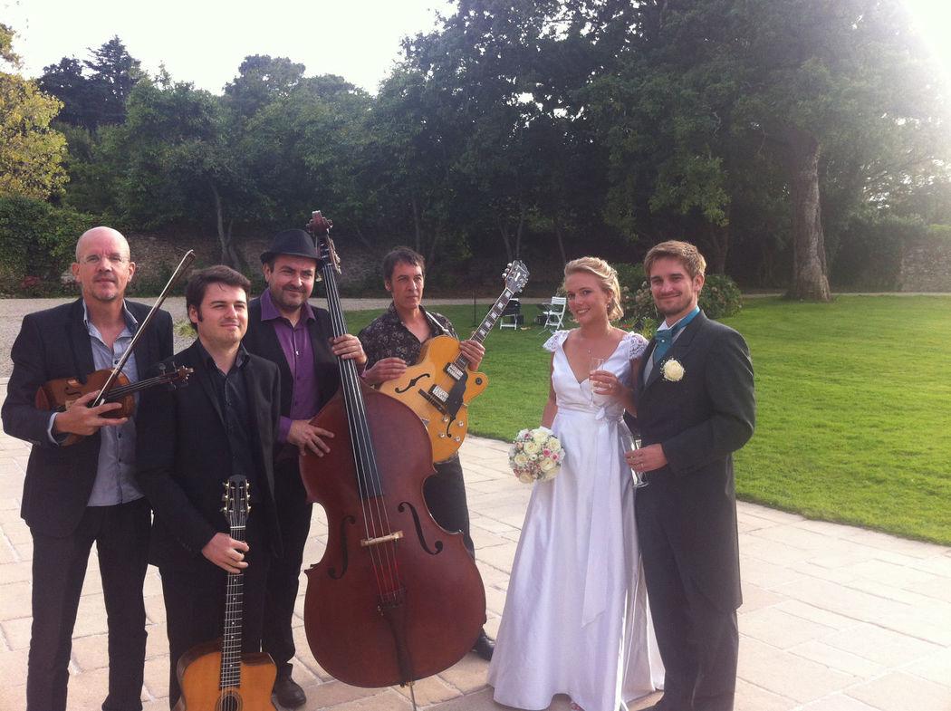 quartet jazz manouche